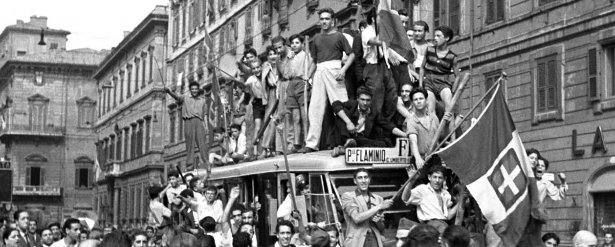 25 aprile 1945, vincitori e vinti