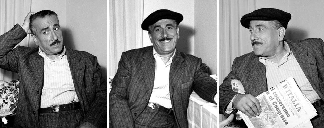 Peppino De Filippo , la nascita di un genio comico