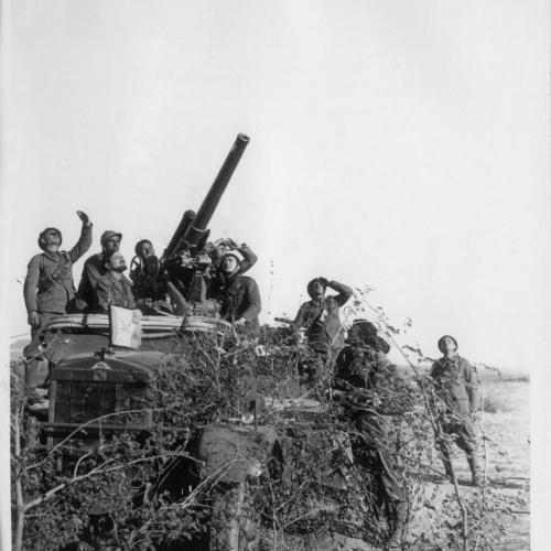 Batteria legionaria, dintorni di Salamanca, autunno 1936 ©Archivio Centrale dello Stato