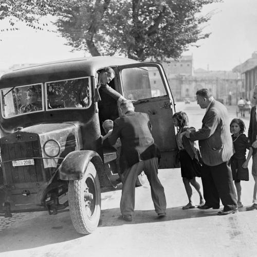 Soccorso ai bambini perduti e sbandati, 1946