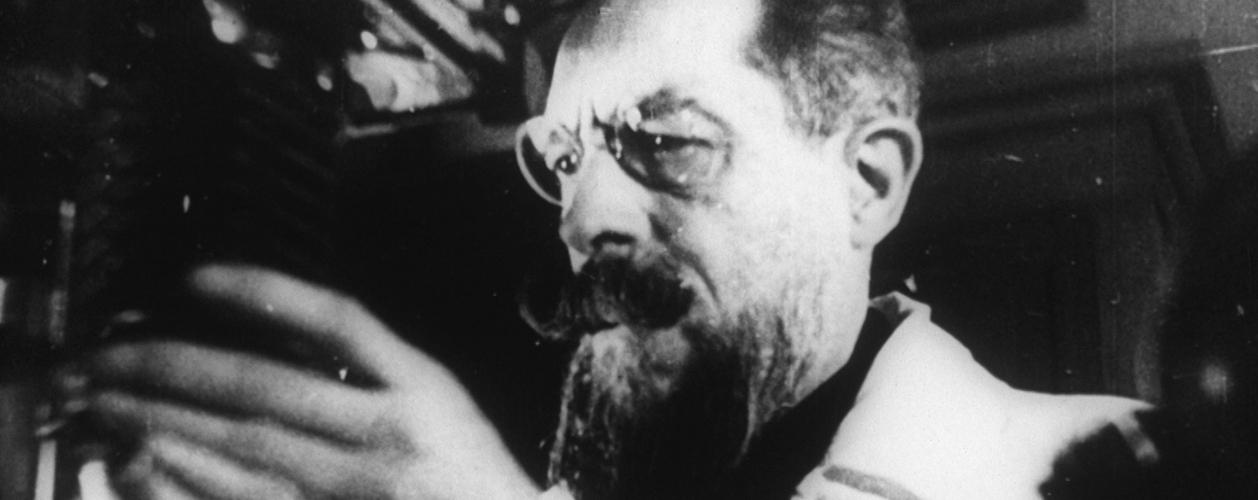 Roberto Omegna, il pioniere del cinema scientifico