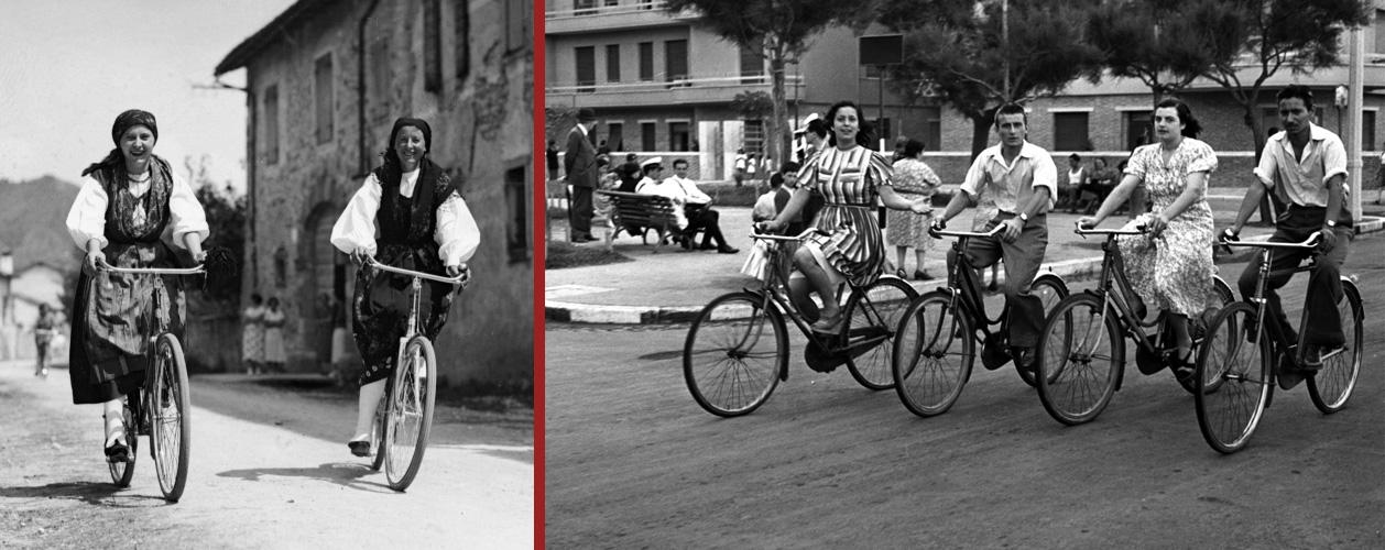 Quando si andava in bicicletta