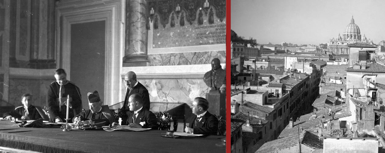 L'11 febbraio 1929 la firma dei Patti Lateranensi