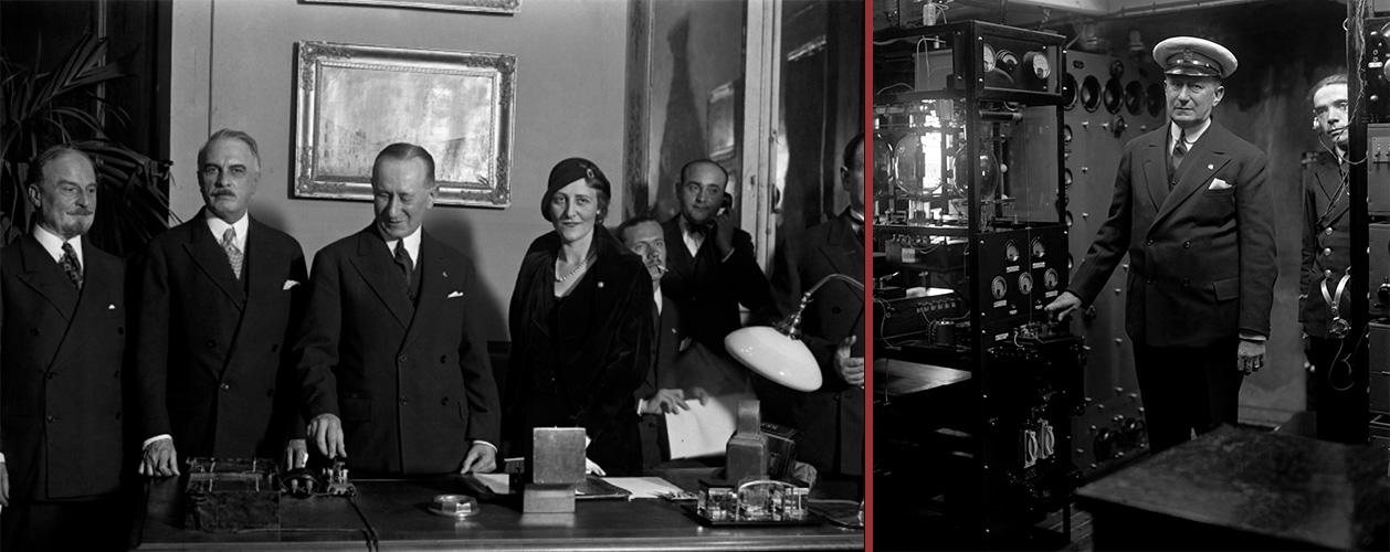 Guglielmo Marconi accende il mondo