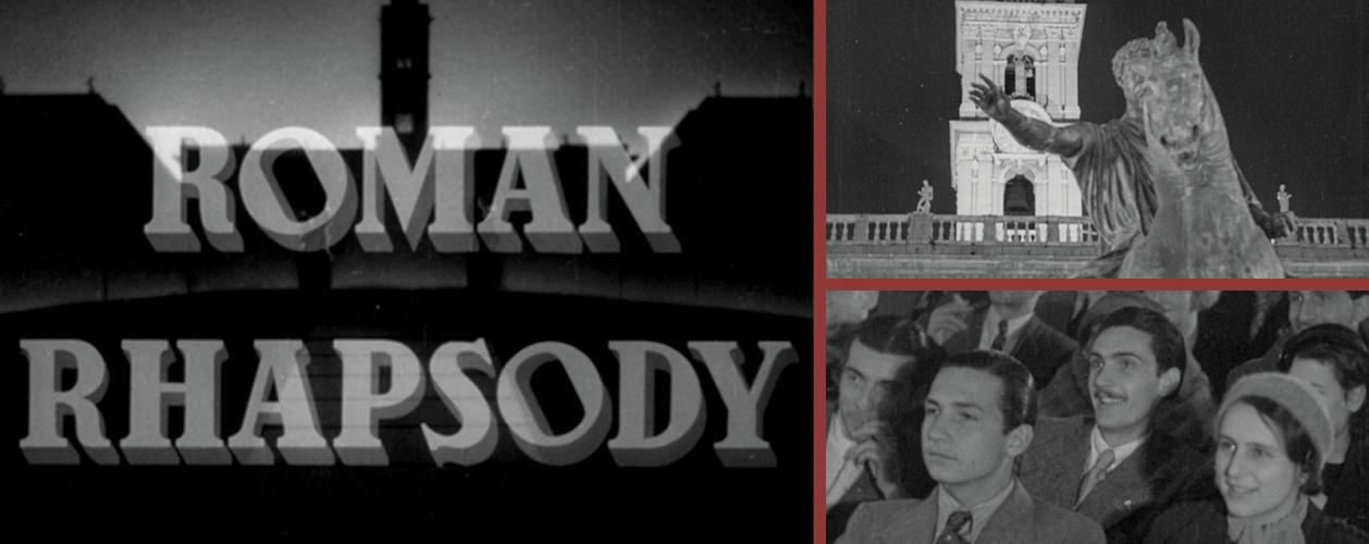Roman Rhapsody di Pietro Francisci, 1936